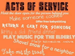 Acts of service ideas